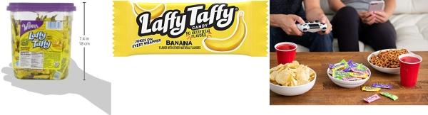 Purchase Laffy Taffy Candy Jar, Banana, 145 Count on Amazon.com