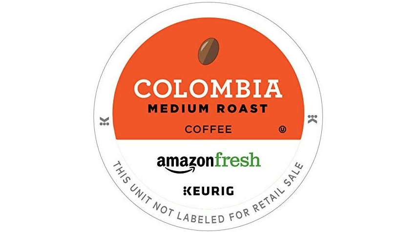 Purchase AmazonFresh 12 Ct. K-Cups, Colombia Medium Roast, Keurig K-Cup Brewer Compatible at Amazon.com