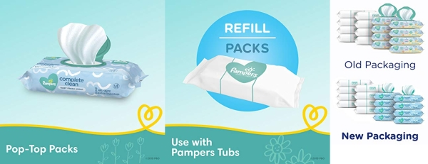 Purchase Baby Wipes, Pampers Baby Diaper Wipes, Complete Clean Scented, 1152 Total Wipes on Amazon.com