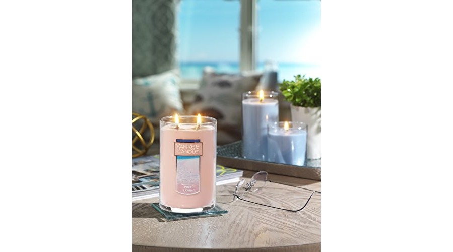 Purchase Yankee Candle Large 2-Wick Tumbler Candle, Pink Sands on Amazon.com