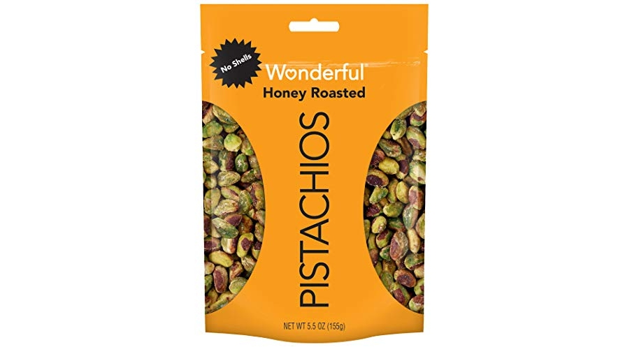 Purchase Wonderful Pistachios, No Shells, Honey Roasted, 5.5oz at Amazon.com