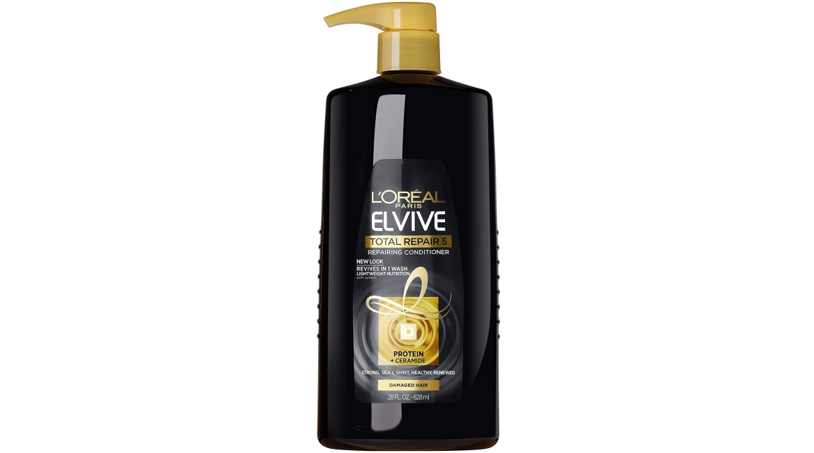 Purchase L'Oreal Paris Elvive Total Repair 5 Repairing Conditioner for Damaged Hair Conditioner with Protein and Ceramide for Strong Silky Shiny Healthy Renewed Hair 28 Fl Oz at Amazon.com