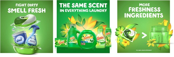 Purchase Gain flings! Laundry Detergent Pacs Plus Aroma Boost, Original Scent, HE Compatible, 96 Count on Amazon.com