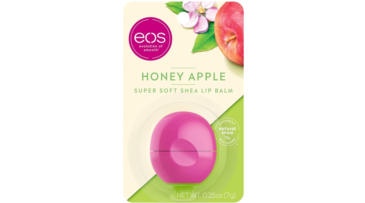 Purchase eos Super Soft Shea Lip Balm - Honey Apple, 24 Hour Hydration, Lip Care to Moisturize Dry Lips, Gluten Free, 0.25 oz at Amazon.com