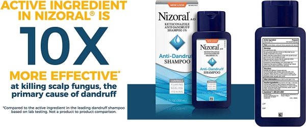 Purchase Nizoral A-D Anti-Dandruff Shampoo, 7 Fl. Oz on Amazon.com