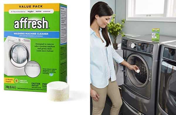 Purchase Affresh Washer Machine Cleaner, 6-Tablets, 8.4 oz on Amazon.com