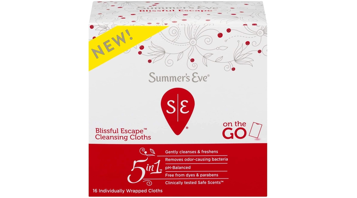 Purchase Summer's Eve Summer's Eve Blissful Escape Personal Cloths - 16ea, 16 Count at Amazon.com