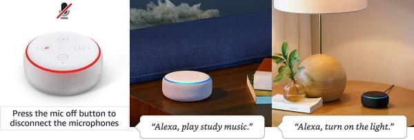 Purchase Echo Dot (3rd Gen) - Smart speaker with Alexa - Charcoal on Amazon.com