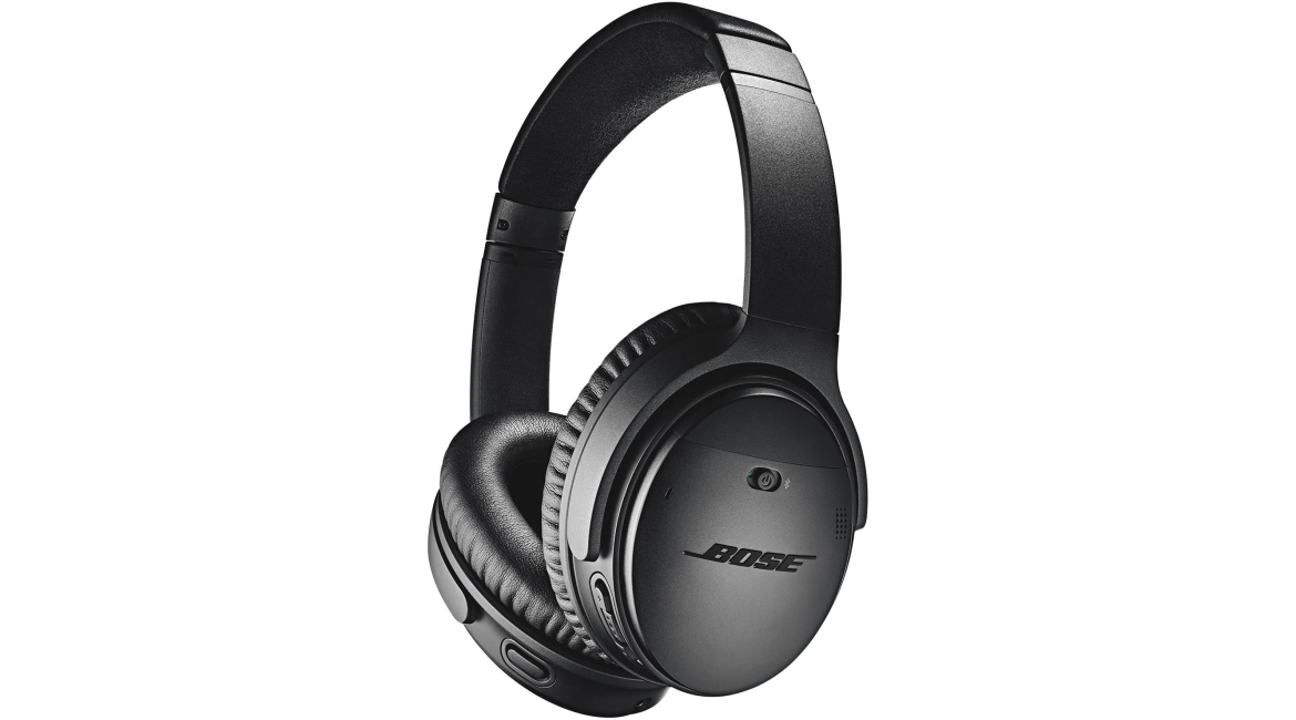 Purchase Bose QuietComfort 35 II Wireless Bluetooth Headphones, Noise-Cancelling, with Alexa voice control - Black at Amazon.com