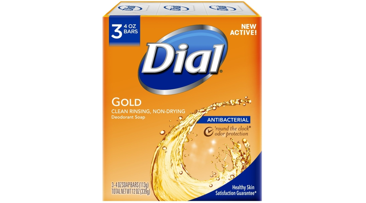 Purchase Dial Antibacterial Deodorant Bar Soap, Gold, 4 Ounce, 3 Bars at Amazon.com