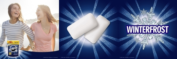 Purchase Eclipse Winterfrost Sugarfree Gum, 180 Piece Bag on Amazon.com