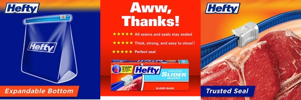 Purchase Hefty Slider Freezer Bags, Gallon Size, 75 Count, 25 Count (Pack of 3) on Amazon.com