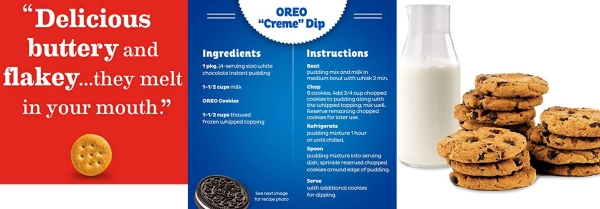 Purchase OREO, RITZ, & CHIPS AHOY! Snack Variety Pack, Cracker Snacks, Cookie Snacks, Family Size - 3 Packs on Amazon.com