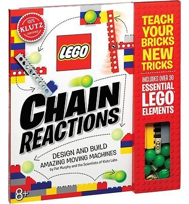Purchase Klutz Lego Chain Reactions Science & Building Kit at Amazon.com