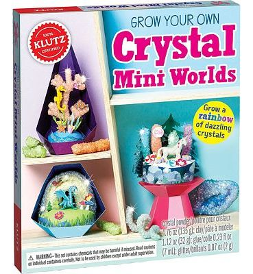Purchase Klutz Grow Your Own Crystal Mini Worlds Science & Activity Kit at Amazon.com