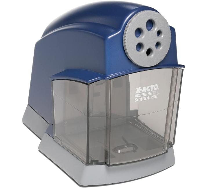 Purchase X-ACTO School Pro Classroom Electric Pencil Sharpener, Blue at Amazon.com