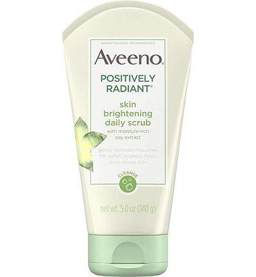 Purchase Aveeno Positively Radiant Skin Brightening Exfoliating Daily Facial Scrub and Face Cleanser, 5 oz at Amazon.com