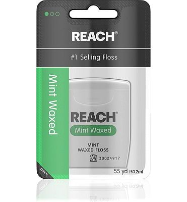 Purchase Reach Waxed Dental Floss, Mint, 55 Yards at Amazon.com