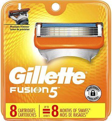Purchase Gillette Fusion5 Men's Razor Blades, 8 Blade Refills at Amazon.com