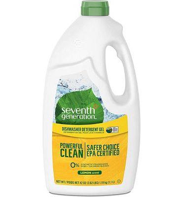 Purchase Seventh Generation Dishwasher Detergent Gel, Lemon Scent, 42 oz (Pack of 6) at Amazon.com