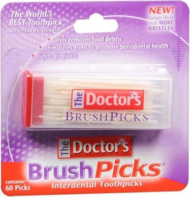 Purchase The Doctor's BrushPicks Interdental Toothpicks, Helps Fight Gingivitis| 60 Picks at Amazon.com