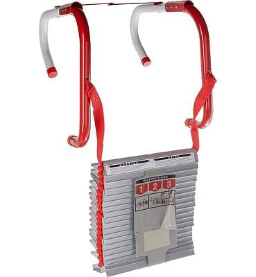 Purchase Kidde Three Story Fire Escape Ladder with Anti-Slip Rungs, 25 Feet, Model # KL-2S at Amazon.com