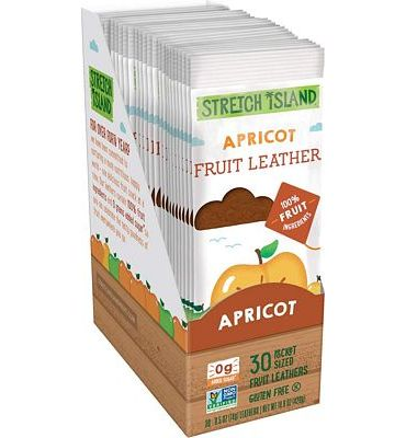 Purchase Stretch Island Apricot Original Fruit Leather Snacks - 0.5 Oz Strips (30 Count) at Amazon.com