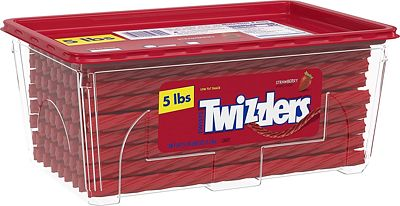 Purchase Twizzlers Licorice Candy, Strawberry, 5 Pound at Amazon.com