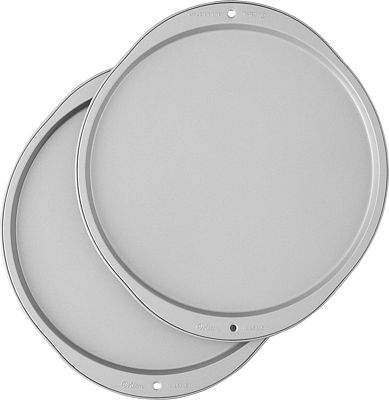 Purchase Wilton Recipe Right Pizza Pans, 2-Piece Set at Amazon.com