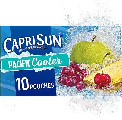 Purchase Capri Sun Pacific Cooler Mixed Fruit Flavored Juice Drink Blend, 10 ct - Pouches, 60.0 fl oz Box at Amazon.com