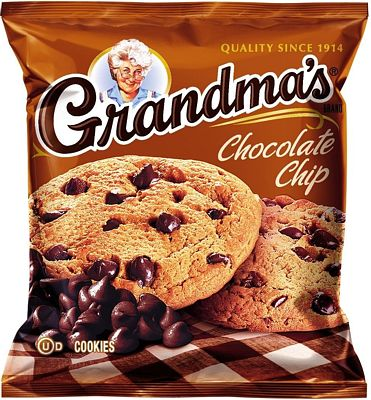 Purchase Grandma's Chocolate Chip Cookies, 2.5 Ounce (Pack of 60) at Amazon.com