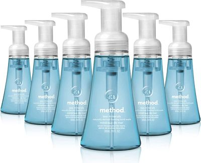 Purchase Method Foaming Hand Soap, Sea Minerals, 10 Fl. Oz (Pack of 6) at Amazon.com