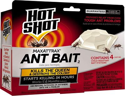 Purchase Hot Shot MaxAttrax Ant Bait, 4-Count at Amazon.com