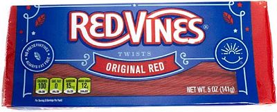 Purchase Red Vines Licorice, Original Red Flavor, 5oz Tray, Soft & Chewy Candy Twists at Amazon.com
