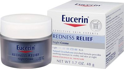Purchase Eucerin Redness Relief Night Creme - Gently Hydrates To Reduce Redness-Prone Skin At Night - 1.7 oz Jar at Amazon.com