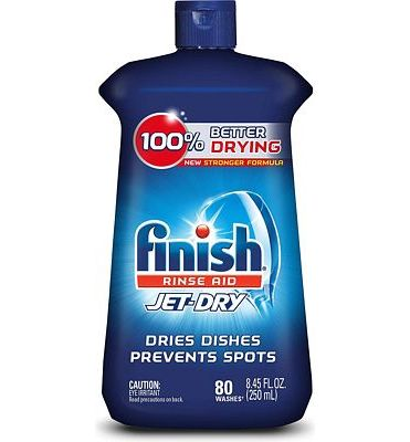 Purchase Finish Jet-Dry Rinse Aid, 8.45oz, Dishwasher Rinse Agent & Drying Agent at Amazon.com