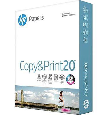 Purchase HP Printer Paper 8.5x11, 20 lb, 500 Sheets 92 Bright, Made in USA at Amazon.com