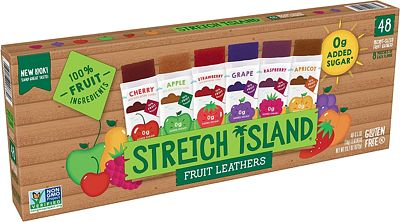 Purchase Stretch Island Fruit Leather Snacks Variety Pack, 0.5 Ounce, Pack of 48 at Amazon.com
