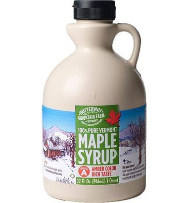 Purchase Butternut Mountain Farm, 100% Pure Maple Syrup From Vermont, Grade A, Amber Color, Rich Taste, All Natural, Easy Pour Jug, 32 Fl Oz, 1 Qt at Amazon.com