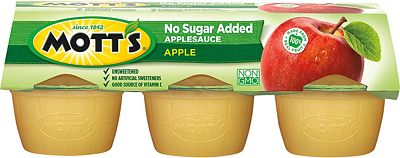 Purchase Mott's Unsweetened Applesauce, 3.9 Ounce Cup, 6 Count (Pack of 12) at Amazon.com