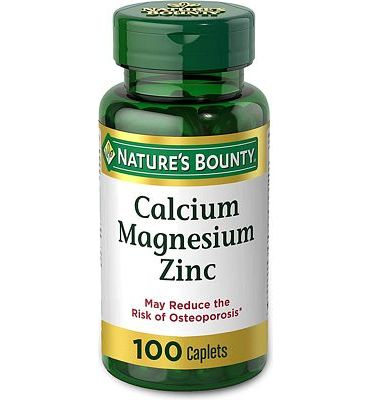 Purchase Nature's Bounty Calcium-Magnesiuim-Zinc at Amazon.com