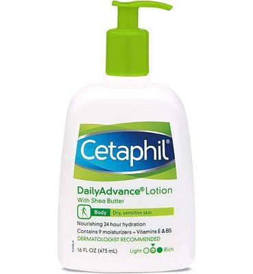 Purchase Cetaphil Daily Advance Ultra Hydrating Lotion With Shea Butter For Dry, Sensitive Skin, 16 Fl Oz at Amazon.com