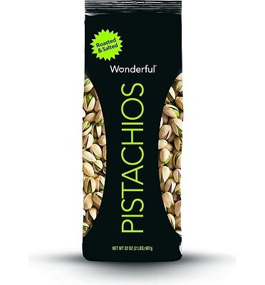Purchase Wonderful Pistachios, Roasted and Salted, 32 Ounce Bag at Amazon.com