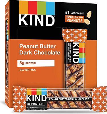 Purchase KIND Bars, Peanut Butter Dark Chocolate, Gluten Free, 1.4oz, 12 Count at Amazon.com