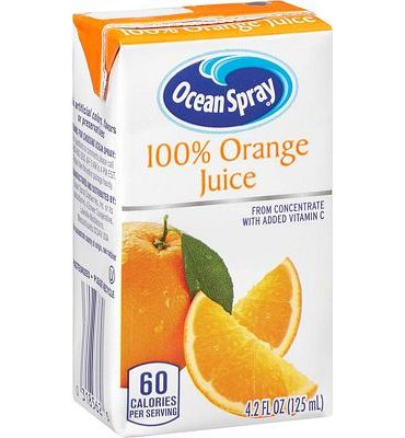 Purchase Ocean Spray 100% Orange Juice, 4.2 Ounce Juice Box (Pack of 40) at Amazon.com