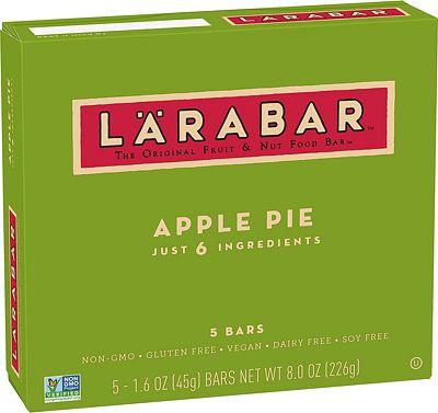 Purchase LARABAR, Fruit & Nut Bar, Apple Pie, Gluten Free, Vegan, Whole 30 Compliant, 1.6 oz Bars (5 Count) at Amazon.com