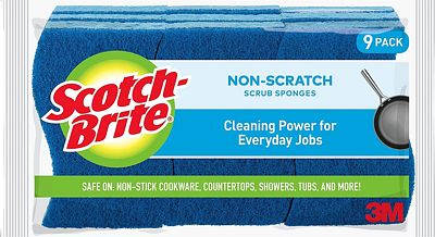 Purchase Scotch-Brite Non-Scratch Sponges, 9 Count, Built Strong to Last Long at Amazon.com
