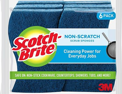 Purchase Scotch-Brite Non-Scratch Sponges, 6 Count, Built Strong to Last Long at Amazon.com