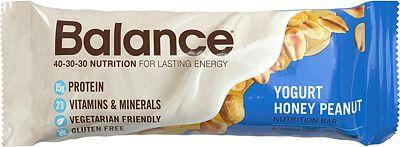 Purchase Balance Bar, Healthy Protein Snacks, Yogurt Honey Peanut, 1.76 oz, 6 Count at Amazon.com