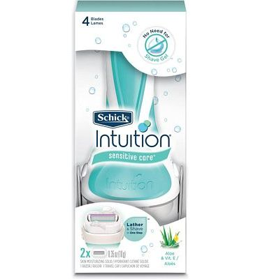 Purchase Schick Intuition Sensitive Care Razor for Women with 2 Moisturizing Razor Blade Refills with Natural Aloe at Amazon.com